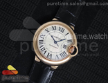 Ballon Bleu 36mm RG Black