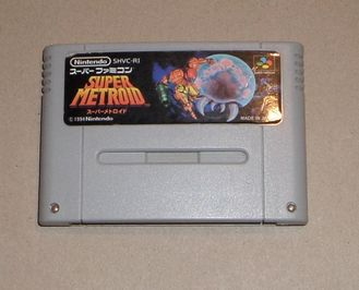 Super Metroid SNES Super Famicom (Англ. язык)