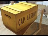 Ящик брендированный окрашенный с крышкой