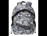 Молодежный рюкзак Zipit GRILLZ BACKPACKS серый камуфляж