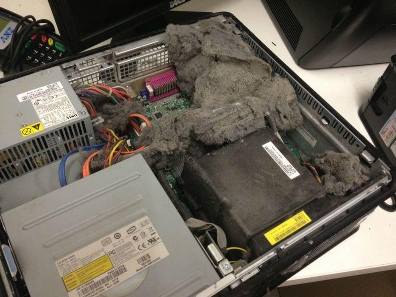 Как сделать чистый ноутбук