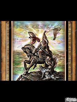 Батыры казахской степи
