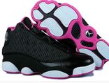 NIKE AIR JORDAN женские черно фиолетовые (36-41)