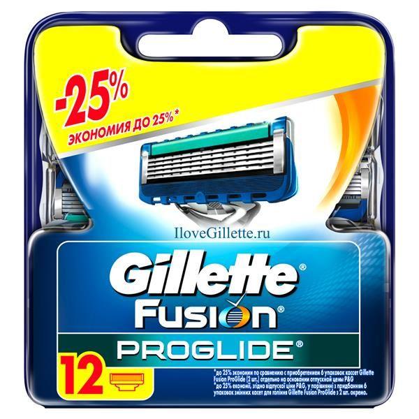 ������� ������� Gillette Fusion ProGlide, 12 ��
