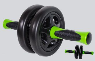 Ролик Double exercise wheel with stopper