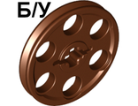 ! Б/У - Technic Wedge Belt Wheel ;Pulley;, Brown (4185) - Б/У