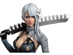 ПРЕДЗАКАЗ - Репликант Каине из игры Nier: Automata - КОЛЛЕКЦИОННАЯ ФИГУРКА 1/6 scale Action figure (SET032) - SUPER DUCK