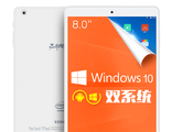 Teclast X80HD. 2 Гб / 32 Гб. Windows 10 + Android 4.4. Экран 8 дюймов. Intel Z3735F 4 ядра, 1.83 GHz.