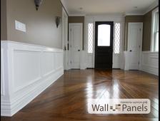 Стеновые деревянные панели для внутренней отделки