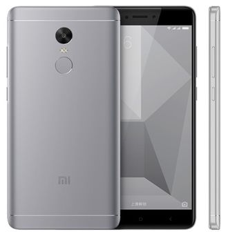 Смартфон Xiaomi Redmi Note 4 64gb+4gb gray (Snapdragon 625)