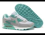 Кроссовки Nike Air Max 90 серо-бирюзовые