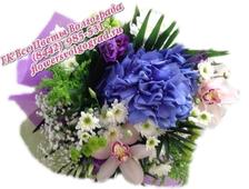 Букет Прованс с Орхидеей и Гортензией