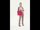 Детская сумка Monster Tote Beach Bag розовый черный