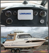Александр, Москва, Моторный катер Beneteau Antares 8.80, Lowrance HDS 7, Радар 3G