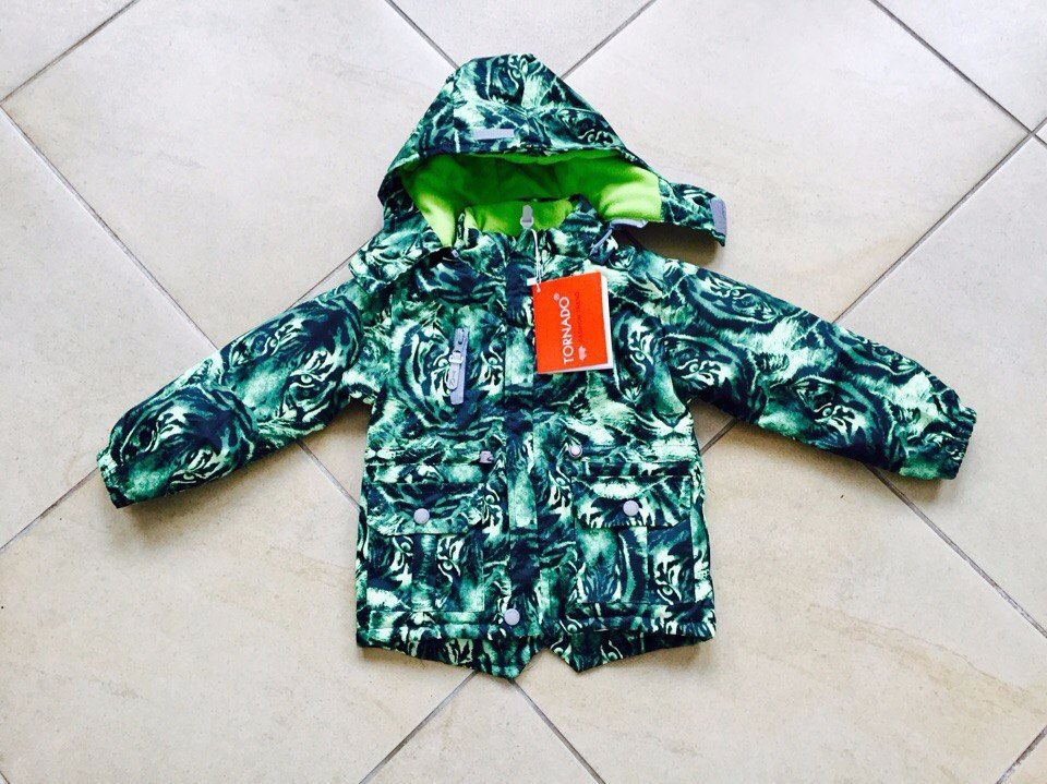 Демисезонная куртка Tornado