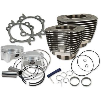 "S&S Cycle 107"" Bolt-In Big Bore Kit for 2007-'17 HD® Big Twins (except '17 touring)"