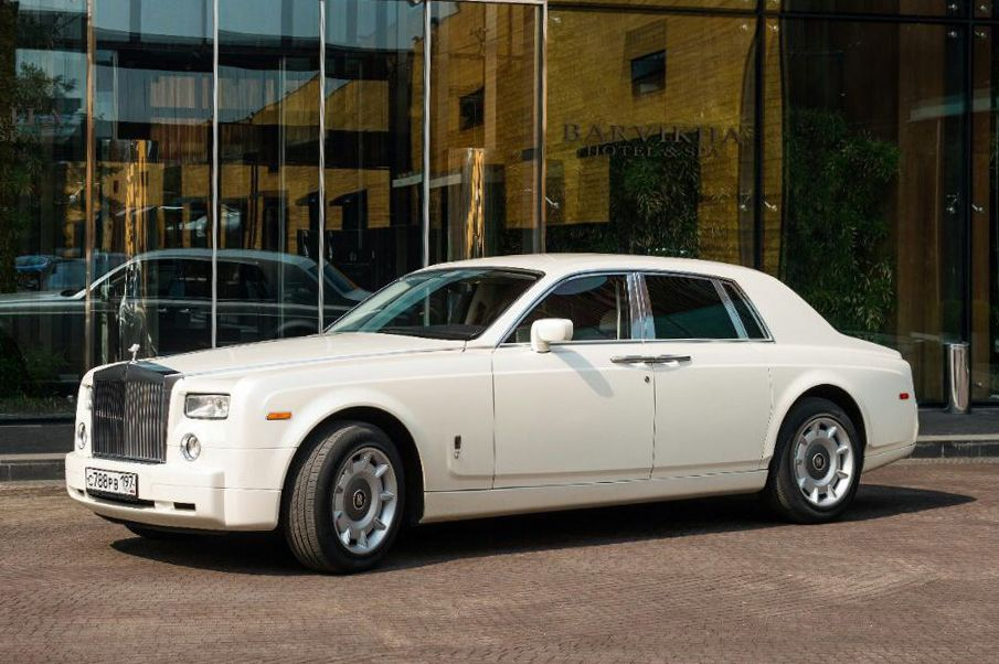 Аренда Rolls-Royce Phantom белого цвета