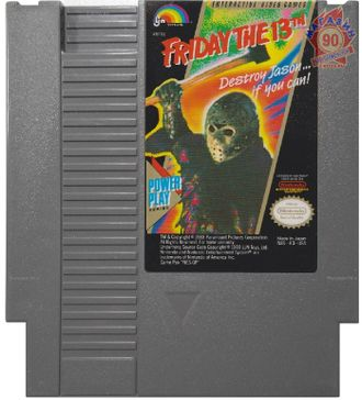 """Friday the 13th"" Игра для NES (Made in Japan)"