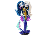 Кукла Monster High Пэрл и Пери Серпентайн Большой Скарьерный Риф Great Scarrier Reef