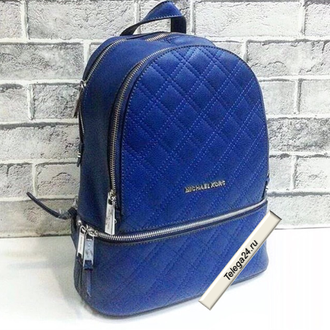 Рюкзак Michael Kors Quilted Large Blue / Синий