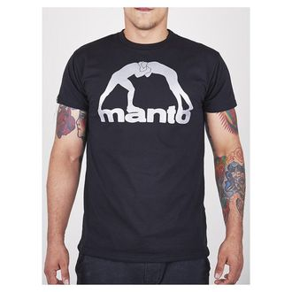 ФУТБОЛКА MANTO LOGO VIBE BLACK