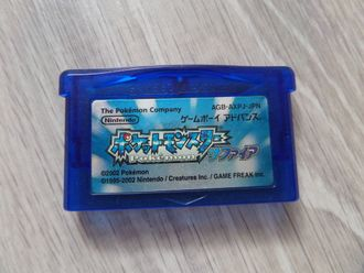 Pokemon Sapphire для Game Boy Advance