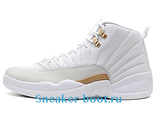 "Air Jordan 12 Retro ""OVO"" White/Gold"