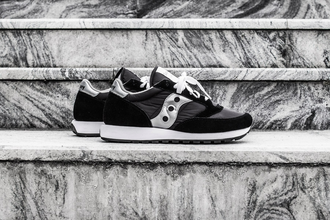Мужские кроссовки Saucony Jazz Original Black/Silver