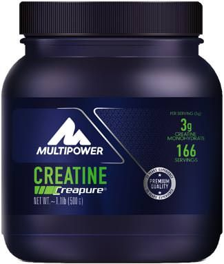 (MultiPower) Creatine Powder 100% - (500 гр)