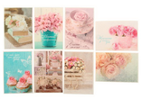"""Набор из 8 небольших открыток """"Нежный"""""""