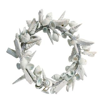 Венок WREATH SHELL OCEAN BLUE D32CM арт. 30737