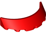 Windscreen 3 x 6 x 1 Curved, Red (62360 / 6167935)