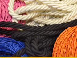 Текстильные провода витые