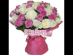 35 роз букетом Флюиды