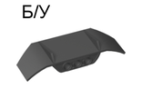 ! Б/У - Technic, Panel Car Spoiler 3 x 8 with Three Holes, Black (61073 / 4518336) - Б/У