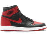 Nike Air Jordan 1 Retro High black/red (40-44)