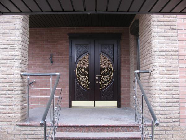 стальные двери в подъезд красном селе
