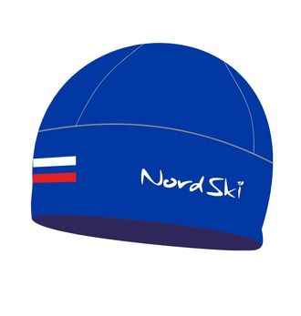 Шапка NordSki Active Blue Rus