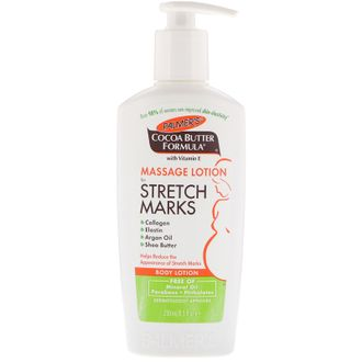 Лосьон от растяжек Palmer's, Cocoa Butter Formula, Massage Lotion for Stretch Marks, Body Lotion,  (250 ml)
