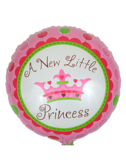"Шар ""A new little princess"" 45 см"