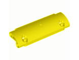 Technic, Panel Curved 11 x 3 with 2 Pin Holes through Panel Surface, Yellow (62531 / 4540613 / 6206298)