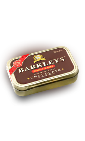 леденцы barkleys chocolate mint 50гр (Нидерланды)