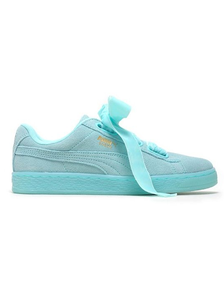 Puma Suede Bow Mint