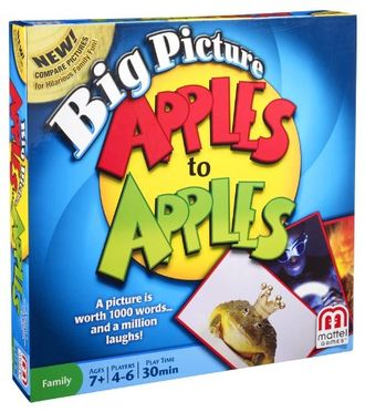 Apples To Apples Big Picture Game