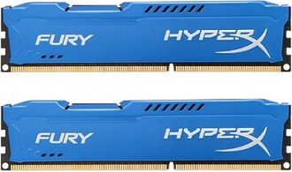 Оперативная память Kingston HyperX FURY Blue Series [HX313C9FK2/16] 16 Гб