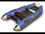 Моторно-гребная лодка Камыш 3400 НД серия Norma (длина 340см, баллон 44см, надувной пол, мотор до 15 лс)