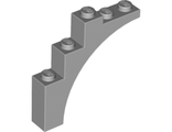 Brick, Arch 1 x 5 x 4 - Continuous Bow, Light Bluish Gray (2339 / 4211348 / 4519930 / 6075066)