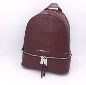Рюкзак Michael Kors Rhea Medium Bordo / Бордовый