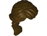 Minifig, Hair Female Ponytail Long French Braided, Dark Brown (88286 / 4581313)