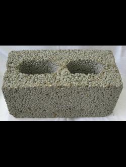 Блок керамзитобетонный стеновой двухпустотный КСР-ПР-ПС-39-50-F50-1000 ГОСТ 6133-99